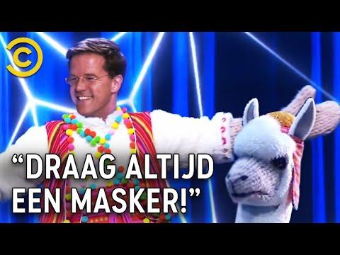 'MARK RUTTE is de MASKED SINGER!'