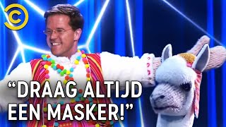 'MARK RUTTE is de MASKED SINGER!'