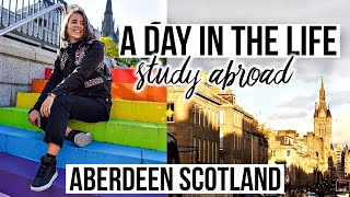 A DAY IN THE LIFE ✈️🏴󠁧󠁢󠁳󠁣󠁴󠁿🎓Study Abroad in Scotland (VLOG) #Europe4Future #ThankEU