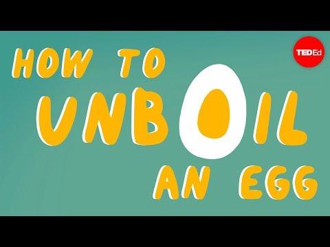 How to unboil an egg - Eleanor Nelsen