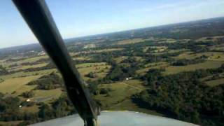 King Air 200 Short Field Landing at Athens Texas F44