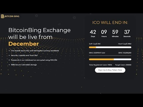 Bitcoin Bing - A Revolutionary Exchange With Unique Features