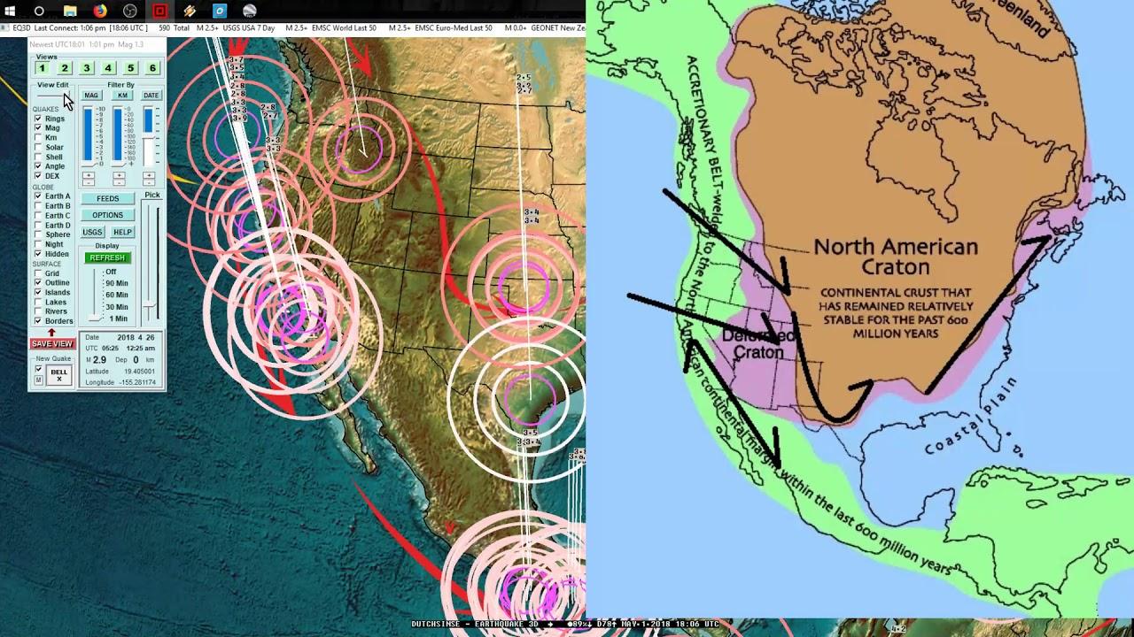 5012018 Earthquake increase strikes California Midwest