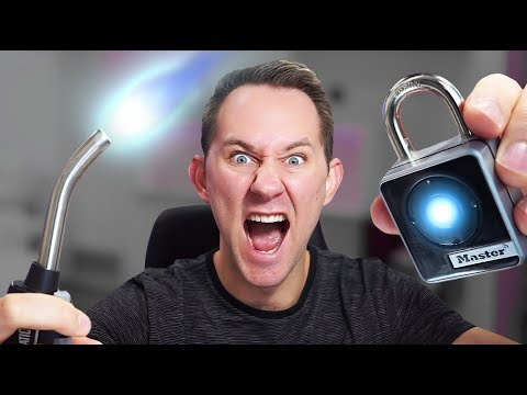 ENJOY or DESTROY! | Bluetooth Lock Hack!