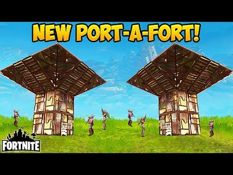 NEW \'PORT-A-FORT\' BEST PLAYS! - Fortnite Funny Fails and WTF Moments! #162 (Daily Moments)