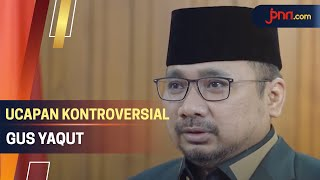Aziz Yanuar Komentari Ucapan Gus Yaqut