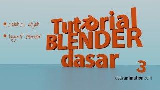 Tutorial blender dasar (bag 3)