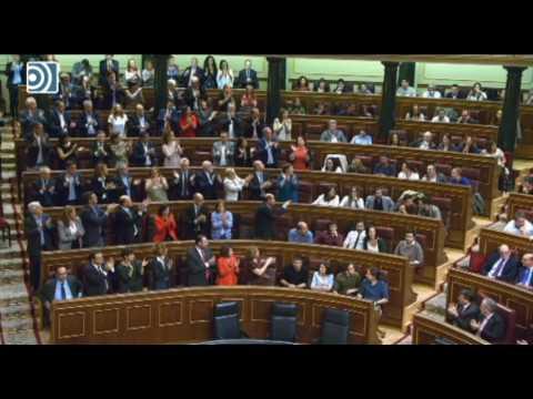 PP y Ciudadanos ovacionan la respuesta de Hernando a los insultos de Rufián