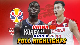 "CHINA vs KOREA ""FULL HIGHLIGHTS"" 