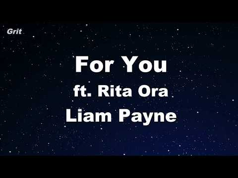 For You - Liam Payne, Rita Ora Karaoke 【With Guide Melody】 Instrumental