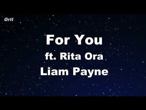 For You - Liam Payne, Rita Ora Karaoke 【With Guide Melody】 Instrumental