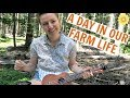 A DAY IN OUR FARM LIFE | MEG + FIN