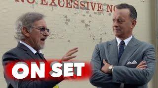 Bridge Of Spies: Behind The Scenes Movie Broll - Tom Hanks Steven Spielberg