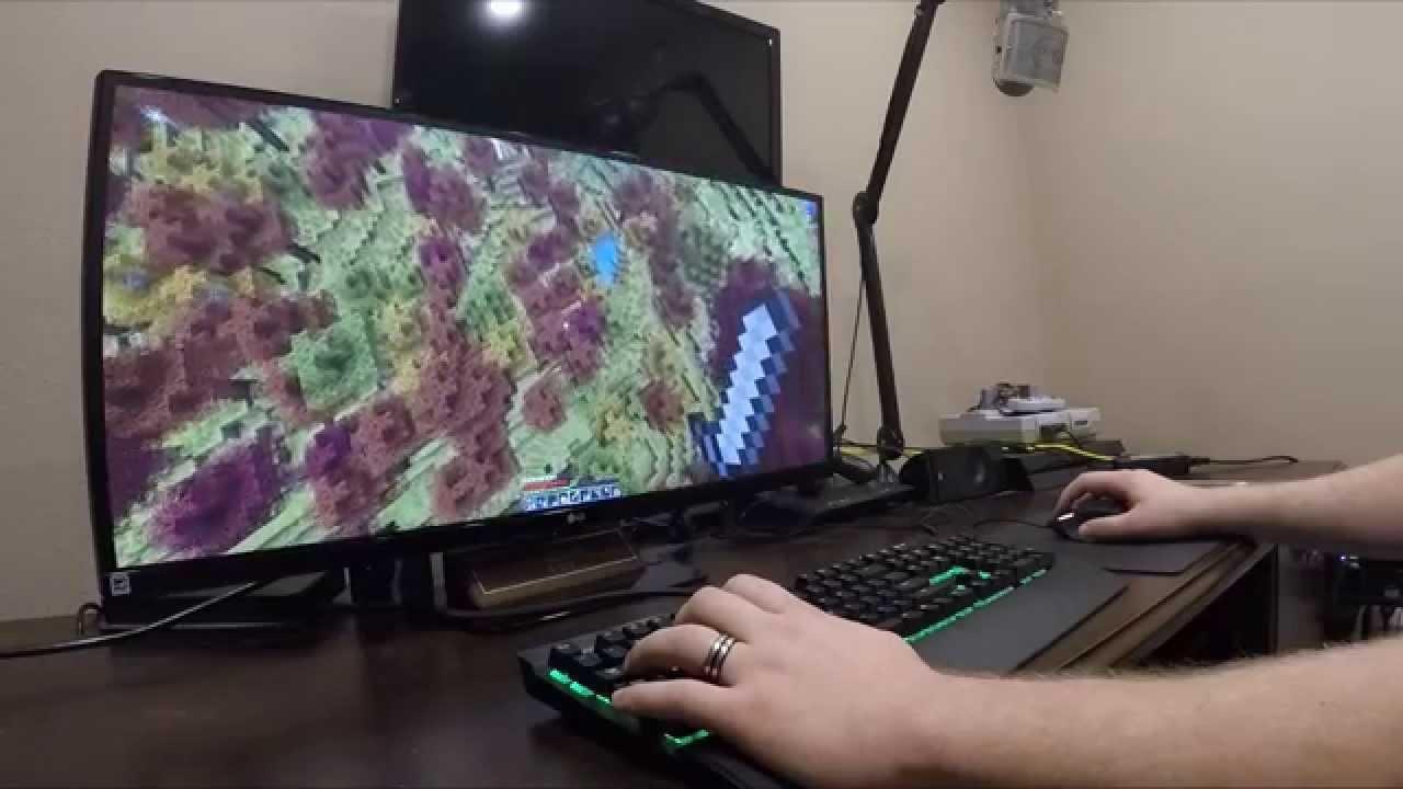 Jahova's New Setup! HUGE New Monitor! (LG 34