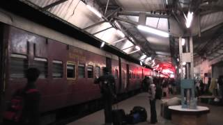 Boarding the Barak Valley Exp. at Lumding (Feb. 25, 2013)