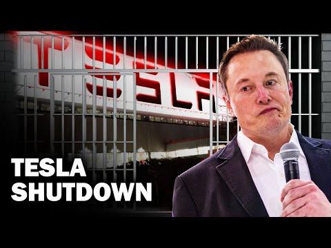 Tesla Shuts Down Fremont Factory