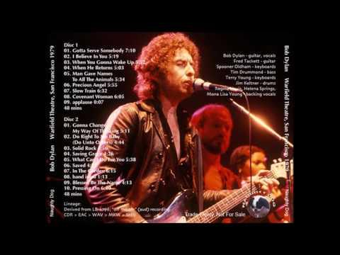BOB DYLAN   San Francisco, CA; November 8, 1979 disc # 2