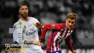 "Ramos ""se corona"" con este dardo a Griezmann | UEFA Champions League | Telemundo Deportes"