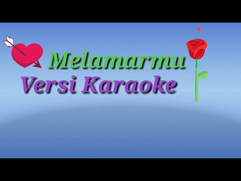 Melamarmu- Karaoke  No Vocal BADAI ROMANTIC PROJECT