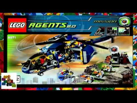 LEGO Instructions - Agents - 8971 - Aerial Defense Unit (Book 2)