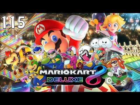 MARIO KART 8 DELUXE - E115 - With Guest Apple
