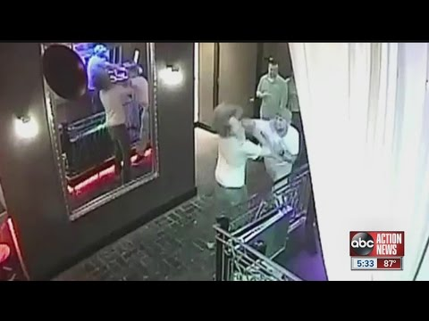 Police looking for man who punched out college student in bar fight