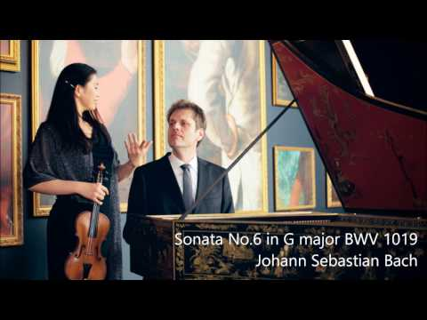 Sonata No.6 in G Major for violin and harpsichord, BWV 1019