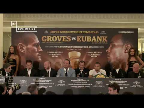 Full Press Conference: George Groves and Chris Eubank Jr