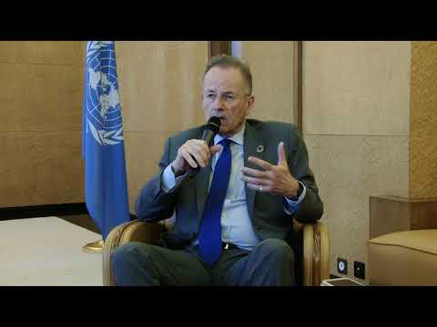 Interview of the Director general of the United Nations Office at Geneva, Michael Moller