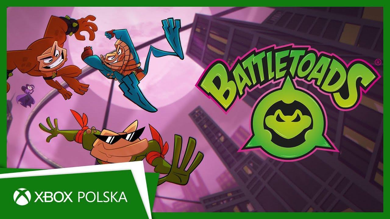 Battletoads - zapowiedź daty premiery | Xbox One
