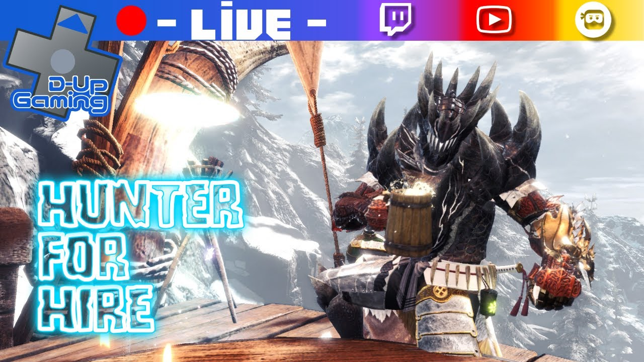 (Play with viewers) helping hunters on Monster Hunter World: Iceborne