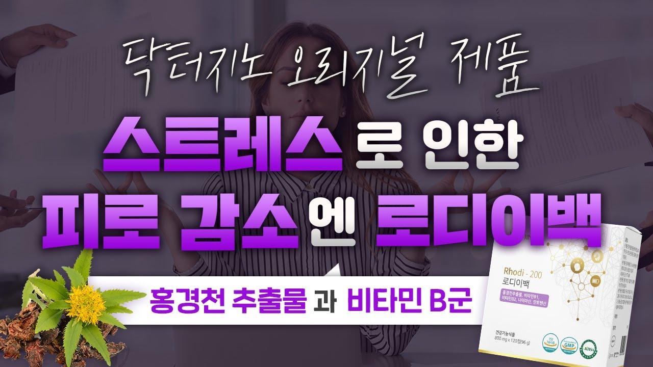 닥터지노 오리지널 제품 #4 스트레스로 인한 피로 회복을 위한 로디이백