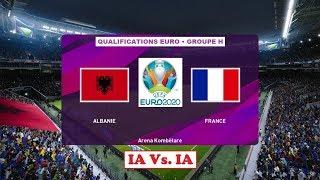 Albanie - France [PES 2020]   UEFA EURO 2020 Qualifications (Journée 10/10 - Groupe H)   IA VS. IA