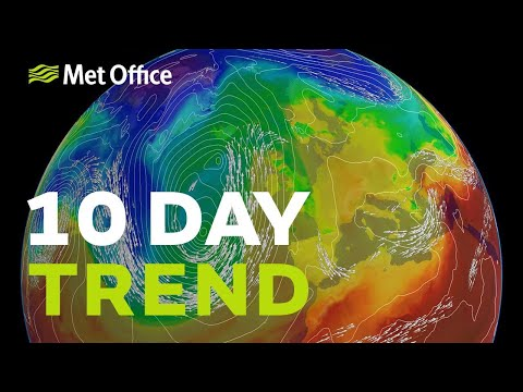 10 day trend - Are we finally going to get some Spring warmth?