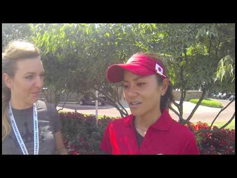 International Crown Rapid Fire Questions with Team Japan's Ai Miyazato