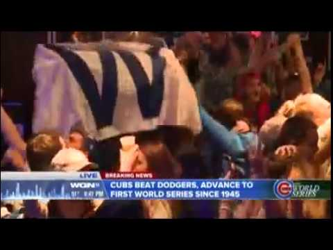 (WGN) Cubs Going To World Series Breaking News (October 22, 2016)