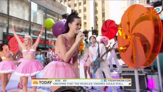 Repeat youtube video Katy Perry - Teenage Dream (Live in Today Show 08.27.10 ) HD 1080p
