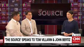 'The Source' speaks to Representatives Aniceto Bertiz and Tom Villarin