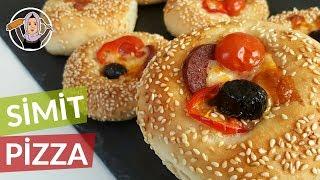 Simit Pizza Tarifi Yumuşacık Lezzet Hatice Mazı ile Yemek Tarifleri
