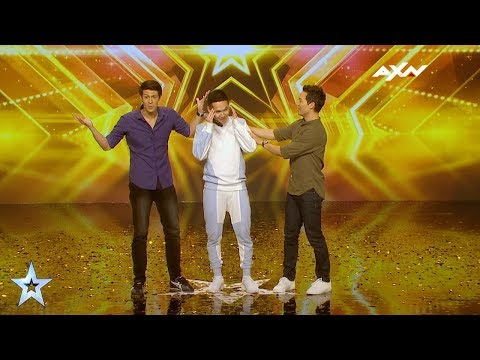 Canion Shijirbat Golden Buzzer Audition! | Asia's Got Talent 2017