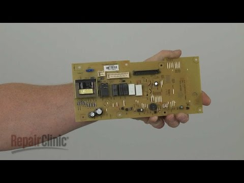 Main Control Board Replacement- Whirlpool Microwave