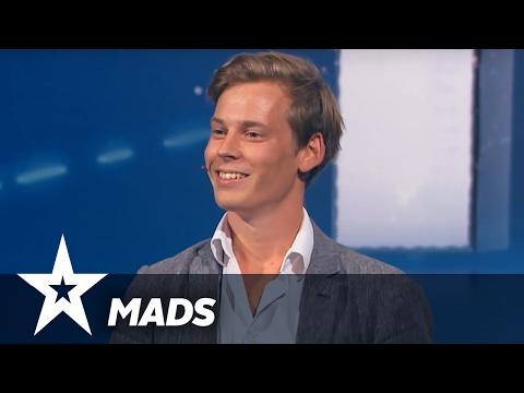 Mads Fencker  Danmark Har Talent 2017  Audition 5