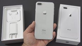 Apple iPhone 8 Plus Silber Unboxing & erster Eindruck! (deutsch)