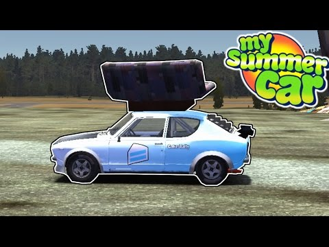 Couch Transport - My Summer Car #12 - Drag Racing + Roll Cage