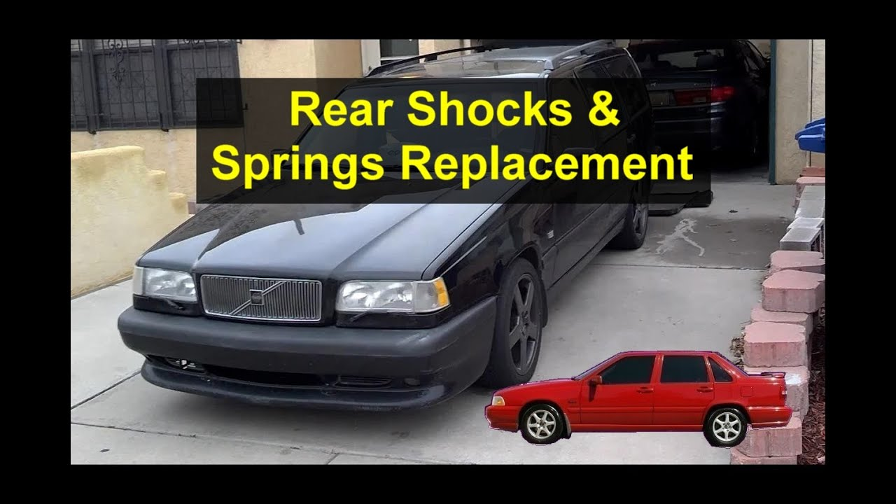 Rear Suspension  Shocks And Springs Replacement  P80 Volvo