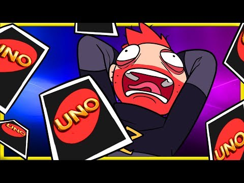 Uno Flip but Max Gets Mad When it Doesn't Flip! |