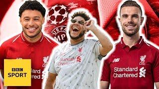 Big Zuu's Liverpool freestyle with Jordan Henderson & Alex Oxlade-Chamberlain | BBC Sport