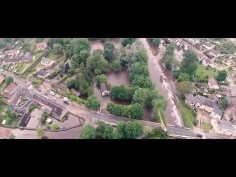 Innondations Loiret 2016 By Drone [2.7K]