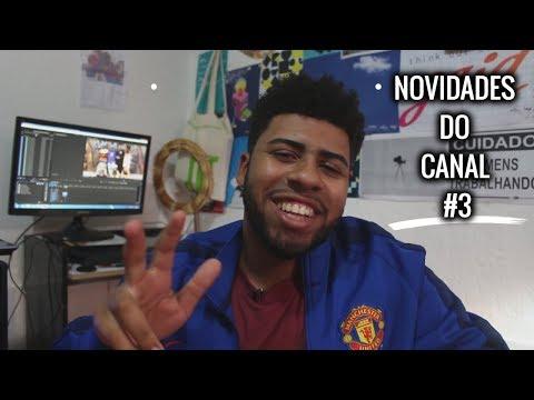 SEGUNDA TEMPORADA VIDA DE MALOKA, SORTEIO NGKS, QUADRO NOVO   Novidades do Canal #3