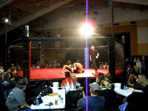CHRIS HAWKINS CAGE FIGHT